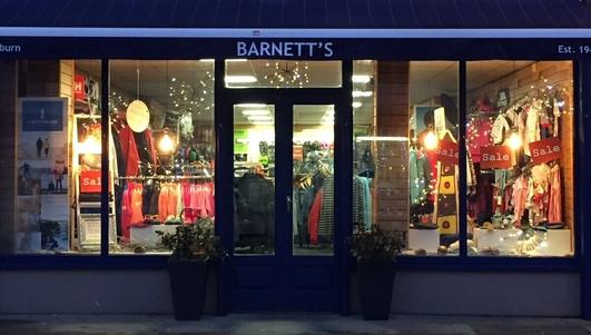 Eddie Pyburn - Barnett's Shop