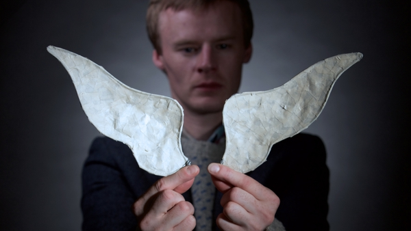 Manus Halligan stars in A Very Old Man With Enormous Wings