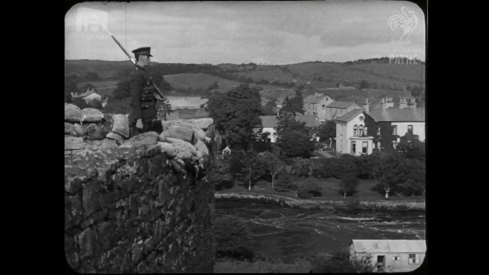 1924 footage shows first images of border