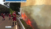 Six One News (Web): More evacuations as Canary Islands fire out of control
