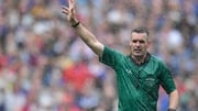 James Owens sent off Richie Hogan in the first half of Sunday's All-Ireland final