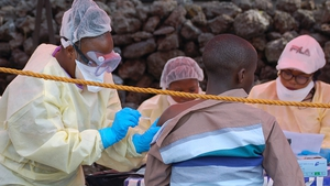 The outbreak of the haemorrhagic virus began in North Kivu on 1 August 2018 and spread to Ituri province