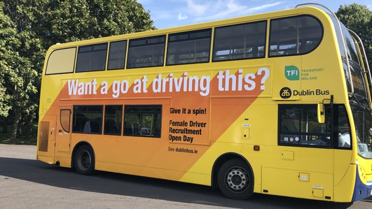 'Give it a spin' - Dublin Bus wants more women drivers
