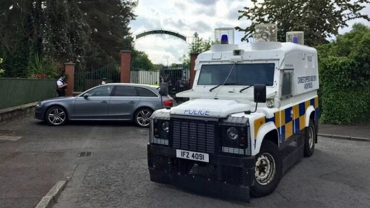 Two arrested in Dublin over attempted bomb attack in NI