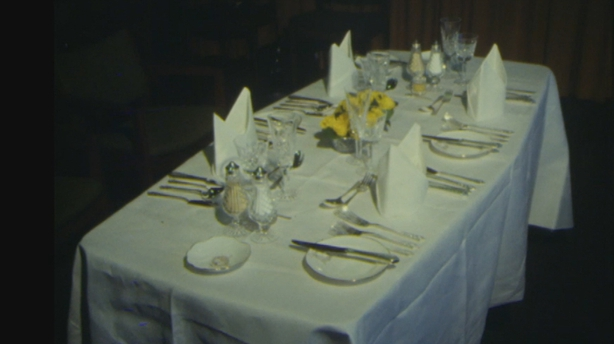 Pope's Dining Table on board the St Patrick (1979)