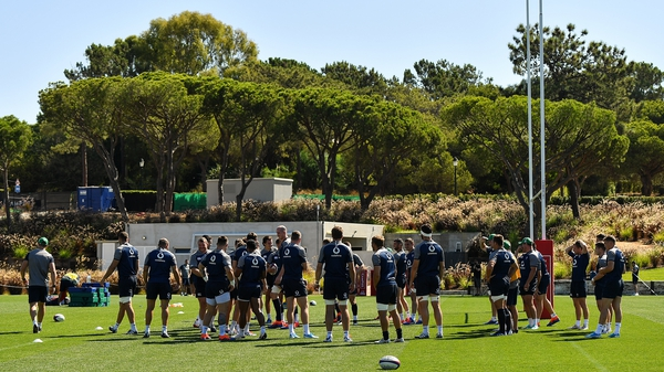 Ireland are currently preparing for a clash with England