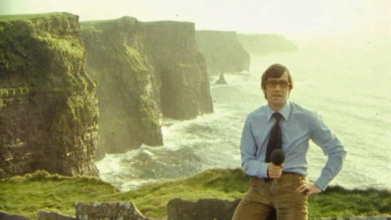 Kevin O'Connor at the Cliffs of Moher (1979)