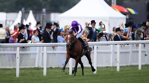 Ryan Moore steered Japan to victory at Ascot
