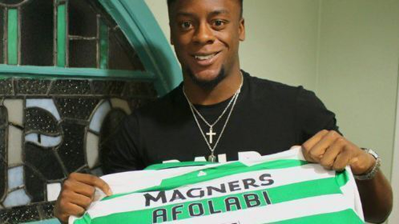 'Delighted' Afolabi eager to prove his worth at Celtic