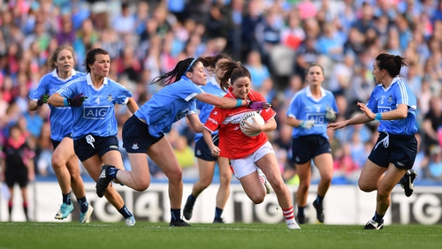 Dublin crowded Cork out in last year's All-Ireland final
