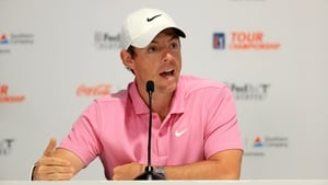 Rory McIlroy said Tiger Woods was his hero growing up (file pic)
