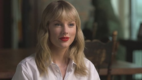 Taylor Swift sits down with CBS Sunday Morning in the US this weekend Screenshot: CBS