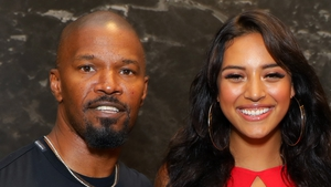 "Jamie Foxx and Sela Vave (photographed at an event in Hollywood last month) - ""I spoke to that girl's mom and she put her trust in me"""