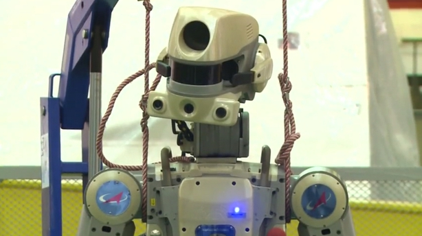 Russia sends first humanoid robot into space
