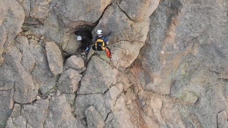 Climber saved after night at Bottomless Pit in Rockies