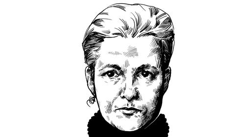 Herstory: Annie Besant (1847-1933): Secularist, politician, theosophist. Illustration by Szabolcs Kariko.