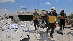 Syria says the corridor will help civilians to escape from Idlib