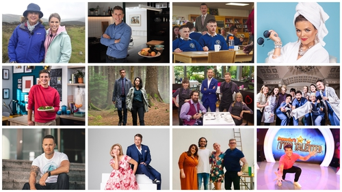 The stars and makers of the shows launched the line-up in Dublin on Thursday, promising new appointments-to-view-and-listenalongside returning favourites