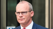 Simon Coveney said the Withdrawal Agreement is not up for renegotiation