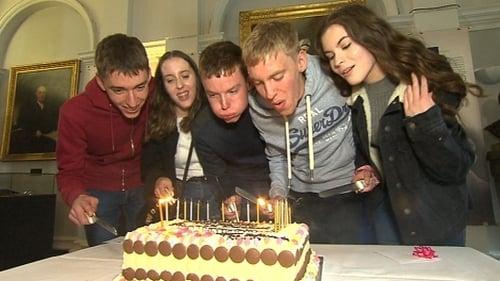 The Cassidys celebrated their 18th birthday at the Rotunda Hospital