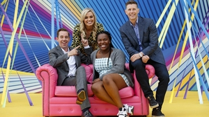 All smiles at the RTÉ New Season Launch
