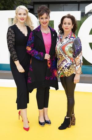 Fair City's Rebecca Grimes, Tina Kellagher and Neili Conroy