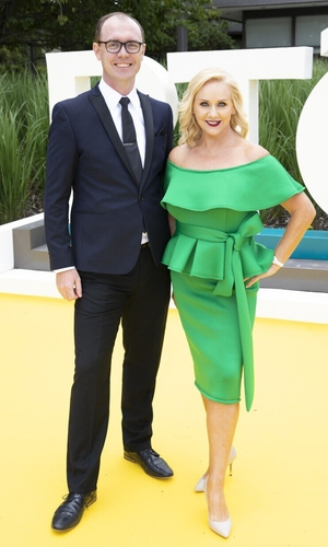 Dancing with the Stars' Brian Redmond and Lorraine Barry