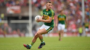 Barry John Keane has made 35 championship appearances for Kerry since making his debut in 2010, all but three coming from the bench