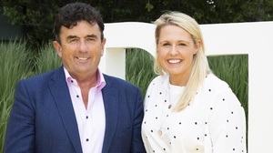 Des Cahill and Jacqui Hurley