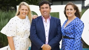 RTÉ Sport's Jacqui Hurley, Des Cahill and Fiona Coughlan