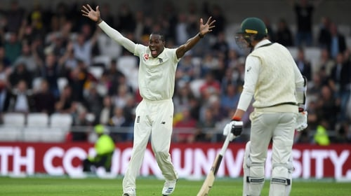 Jofra Archer takes six wickets as England bowl Australia out for 179