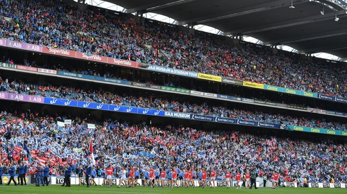 50,141 watched Dublin beat Cork in last year's All-Ireland final