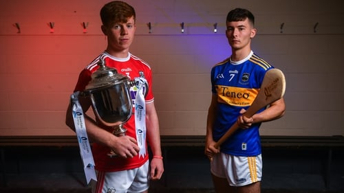 Will it Cork captain James Keating (L) or Tipperary skipper Craig Morgan who lift the cup?