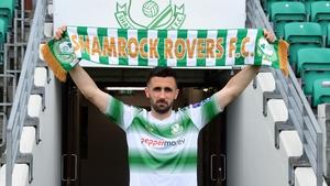 Daniel Lafferty has joined Shamrock Rovers