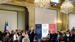 President Macron will host the G7 summit, seeking to find common ground on such issues as Iran's nuclear deal and climate change