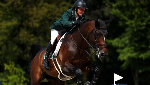 Peter Moloney and Chianti's Champion were Ireland's top performers over three days with