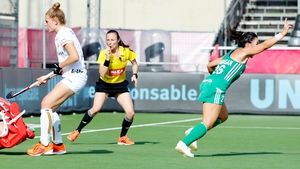 Anna O'Flanagan celebrates the winning goal