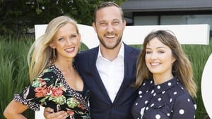 First Dates Ireland's Alice Marr, Mateo Saina and Libby Russell. Picture: Kinlan Photography.