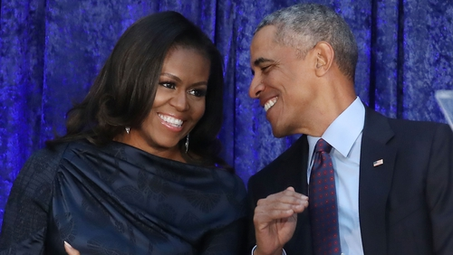 Michelle and Barack Obama's summer playlist released
