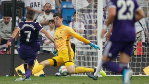 Sergi Guardiola scores to give Real Valladolid a point