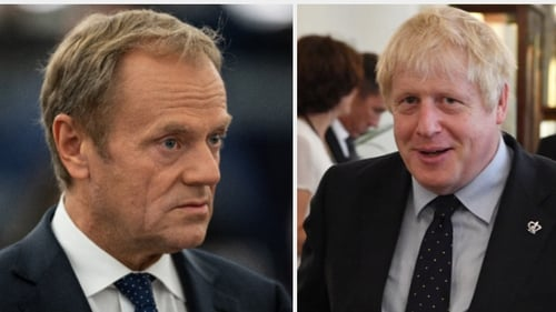 Donald Tusk said he would recommend a Brexit delay after Boris Johnson's Commons defeat