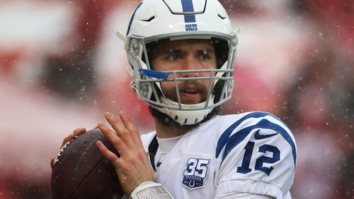 Indianapolis Colts quarterback Andrew Luck is still just 29