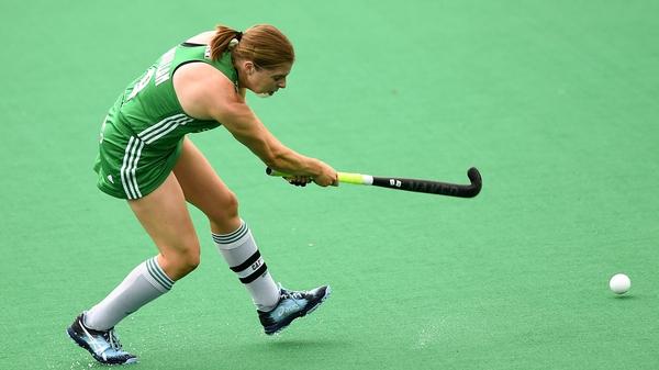 Katie Mullan struck for Ireland