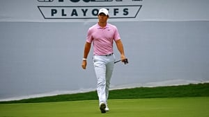 Rory McIlroy is well in the hunt in Atlanta