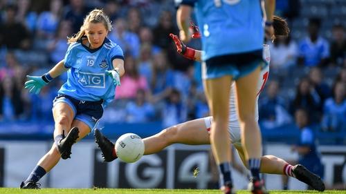 Caoimhe O'Connor slots home Dublin's first goal