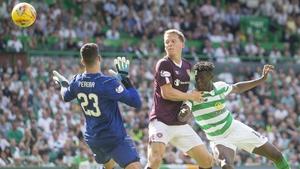 Vakoun Bayo heads home Celtic's opener