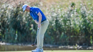 Gavin Moynihan in action on the final day