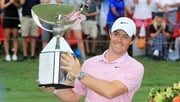 Rory McIlroy celebrates his victory