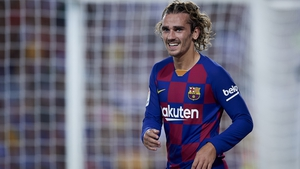 The Frenchman scored twice in a 5-2 win over Real Betis