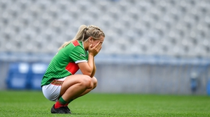 A dejected Éilis Roynane at the full-time whistle